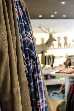 Mens jackets in the Alprausch store in Zurich Zurich, Curtains, Store, Jackets, Home Decor, Down Jackets, Blinds, Decoration Home, Room Decor