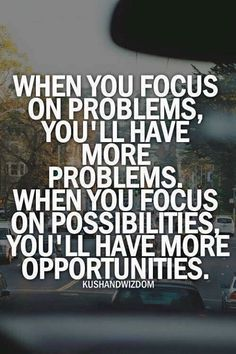 Always focus on opportunities. #superwomansquad #mindset #thehustlelife #coach #entrepreneur