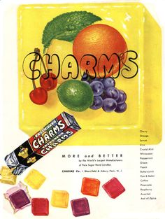 Vintage Candy Advertisements will get you in the mood to try some of the many nostalgic retro candies we carry in bulk at wholesale prices. My Childhood Memories, Sweet Memories, School Memories, 90s Childhood, School Days, High School, Charms Candy, Vintage Candy, Retro Candy