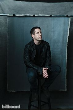 Trent Reznor photographed by Austin Hargrave on October 22, 2014 at Milk Studios in Hollywood, CA.