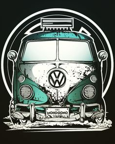 The most incredible Instant Pot spicy teriyaki chicken thighs! Moist chicken with a thick sweet and spicy sauce you'll love. Volkswagen Bus, Vw T1, Vw Camper, Sticker Auto, Jetta A4, Combi Wv, Vw Classic, Garage Art, Car Illustration