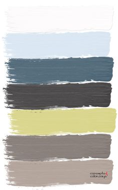 GREEN TEA - Concepts and Colorways chartreuse and blue paint palette The 'Gre. Living Room Color Schemes, Blue Color Schemes, Paint Colors For Living Room, Room Paint, Room Colors, Living Room Decor, Bedroom Decor, Brown And Cream Living Room, Chartreuse Color
