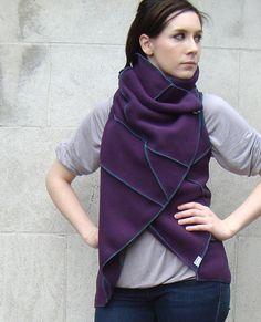 Purple Fleece Vest