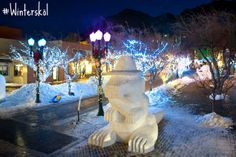 Wintersculpt begins today at 4 p.m. on the Mill Street Mall in #Aspen