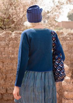 Felted merino wool cardigan – Mellow Agda – GUDRUN SJÖDÉN – Webshop, mail order and boutiques | Colorful clothes and home textiles in natural materials.