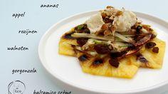 Carpaccio van ananas