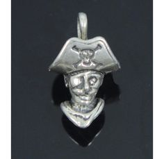 Pirate Charm Sterling Silver