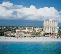 La Playa Resort, Naples, FL...My favorite beach hotel!