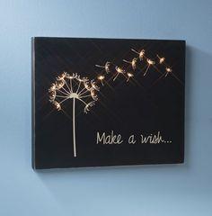 Design, Create, Inspire!: Make a Wish Wooden Canvas