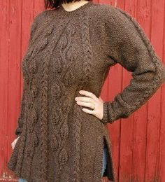 Winter Woods Tunic | AllFreeKnitting.com