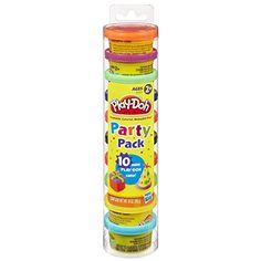 Mini Cans of Play-Doh
