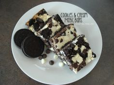 Cookies & Cream Magic Bars! Yummy!