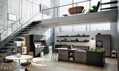 Libre, espontánea, funcional y cómoda. La cocina elimina sus barreras y amplía sus límites al resto de la casa.