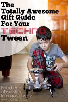 Have a tween that has engineer written all over him? This gift guide is for you. Be curious, learn, enjoy.