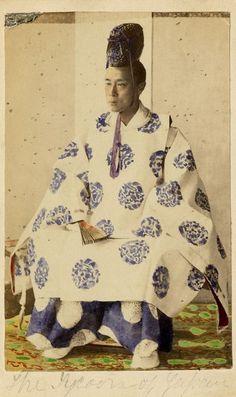 The Last Shogun, Keiki Tokugawa, c.1850.
