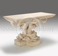 Kent Dolphin Console Table