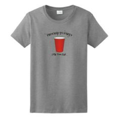 $16.94 Red Solo Cup LADIES T-shirt Toby Keith Ill Fill You Up Proceed to Party Funny College LADIES Tee
