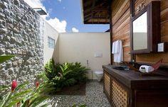 bathrooms outside