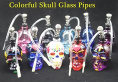 New Arrival 2016 Skull Bongs Recycler Oil Rigs Glass Bongs Glass Water Pipes Oil Burner Pipes Smoking Pipe With Gift Box Glass Bong Beaker Bong Glass Water Pipe Online with 10.66/Piece on Healthy_cigarette's Store | DHgate.com