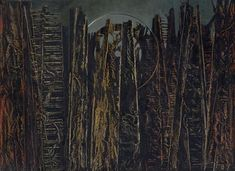 Collection Online | Max Ernst. The Forest (La forêt). 1927–28 - Guggenheim Museum