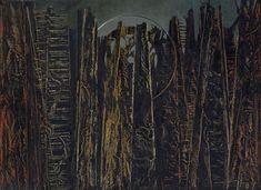 Collection Online | Max Ernst. The Forest (La forêt). 1927–28 - Guggenheim Museum