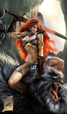 Red Sonja Warrior