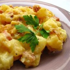 Ham and Potatoes Au Gratin Allrecipes.com