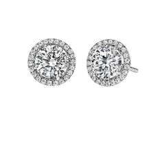 14k white gold diamond cluster earring .50 carat total weight | #dazzling #diamonds #Mother'sDay #Mom