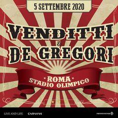 Venditti & De Gregori – Stadio Olimpico ROMA – Campania Tickets Broadway Shows, Friends, Rome, Musica, Amigos, Broadway Plays, Boyfriends, True Friends