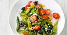 ... oder ein kleiner Gruß aus Italien! Pikanter wird´s, wenn man noch 1 EL kleine Kapern unter den Salat mischt.