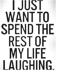 Seriously love a great laugh! Key to my heart!