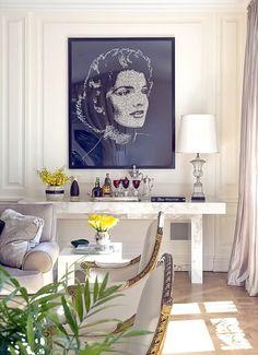 Chic & Eclectic..great room Beto Galvez e Nórea de Vitto Bella Donna's Luxe Designs