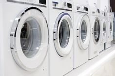 Find warrantied used laundry equipment for sale - made from top manufacturers at Commercial Laundries. Call 305-699-3970 to get started! #laundry #propertymanagement
