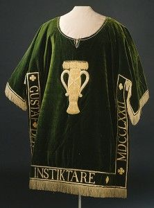 Tabard for the herald of the Order of Vasa #Sweden