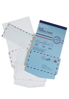 $13 old-fashioned airmail stationary