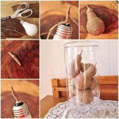 15 Ideas DIY para crear objetos para la decoración del hogar con cuerda. | Mil Ideas de Decoración