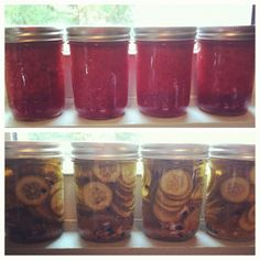 strawberry jam and beer pickles