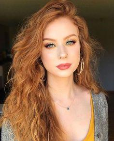 eye makeup for redhead, makeup reds, red hair makeup Rote-Augen-Make-up, rotes Make-up, rotes Haar-Make-up Red Hair Makeup, Redhead Makeup, Makeup For Redheads, Wedding Makeup Redhead, Pale Skin Makeup, Makeup Lips, Eyebrow Makeup, Glam Makeup, Natural Red Hair