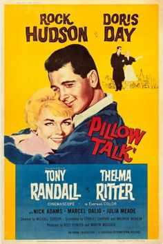 """""""Pillow Talk"""" - 1959.  So racy for this little girl, but totally dug it!"""