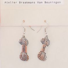YARN  earrings by Atelier Braakmans Van van LarsiaBraakman op Etsy