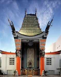 Grauman's Chinese Theater, Hollywood, California - been there.