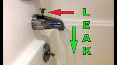replacing bathtub spout if water leaking or dripping from tub spout when shower is on. How to repair not working diverter tub spout. Tub Spout w/diverter f. Tub And Shower Faucets, Bathtub Shower, Bathroom Faucets, Bathrooms, Baby Shower, Leaking Faucet, Lavatory Faucet, Tub Faucet, Bathing