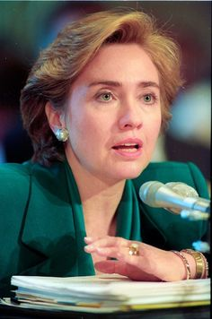 First Lady Hillary Clinton testifies for the final day before the Senate Finance Committee on Health Care