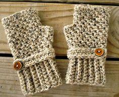 Hand Crocheted Fingerless Gloves Mittens  Fingerless by pixiebell, $40.00  #shopumbabox  #handmade
