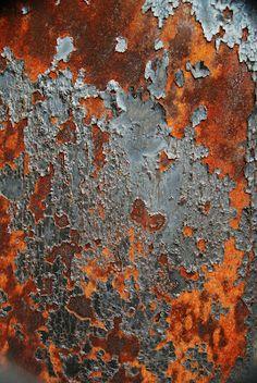 rust+gray
