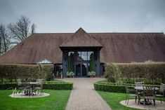 The entrance to the old kent barn on an overcast day, winter wedding, Canterbury, dover Outdoor Pictures, Dressing Area, Barn Wedding Venue, Out Of This World, Beautiful Moments, Gazebo, Old Things, Outdoor Structures, Canterbury