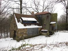 wharton esherick studio by malaikaterry, via Flickr