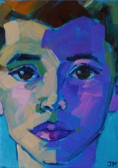 Jessica Miller Paintings: Half-Hour Portrait