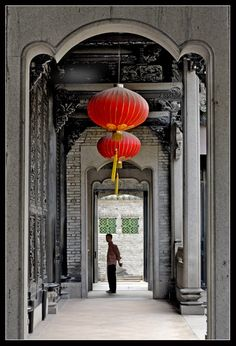 Chen Family Temple in Guangzhou, Guangdong Province_ South China Chinese Interior, Japanese Interior, China Architecture, Architecture Details, Chinese Design, Chinese Style, Guangzhou, Shenzhen, Canton China