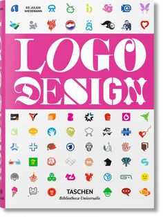Logo Design The comprehensive catalog of logos – across industry, media, music and beyond, this far-reaching collection explores the irrepressible power of a . Graphisches Design, Buch Design, Logo Design, Brand Design, Graphic Design Books, Graphic Design Inspiration, Reference Book, School Logo, Tips & Tricks